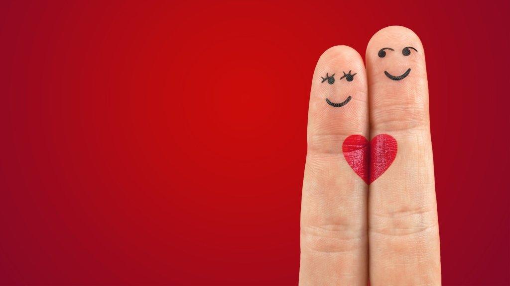 2本の指のペア